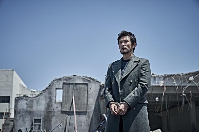 """A scene from """"Ashfall."""" (image: CJ ENM)"""