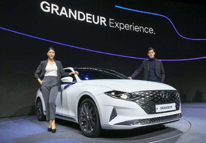 Hyundai Motor's upgraded Grandeur sedan. (image: Hyundai Motor)