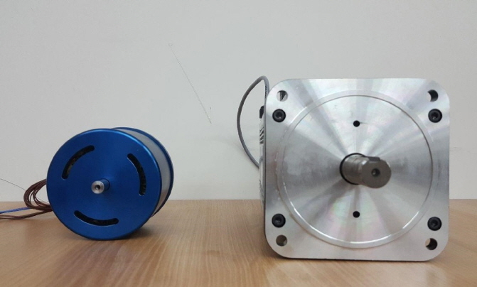 A compact BLDC motor developed by a research team that can replace imports. (image: DGIST)
