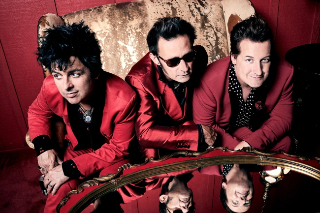 American rock band Green Day. (image: Live Nation Korea)
