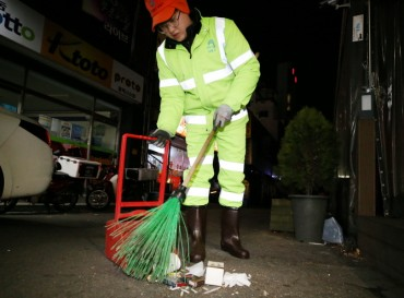 Street Cleaning Job Positions Attract Young Applicants