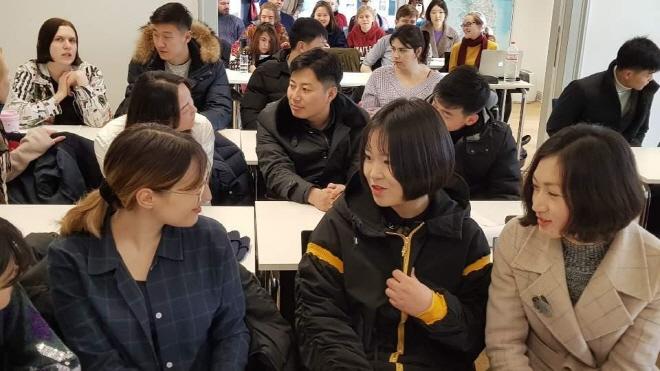 Students from N. Korea's Top University Take Classes at German University
