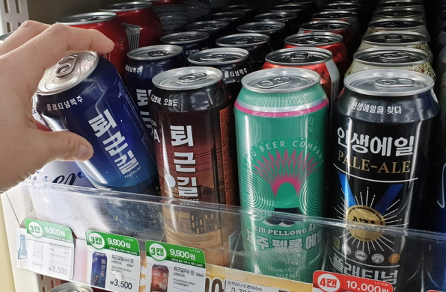 S. Korean Beer Makers Clash in Japan's Absence