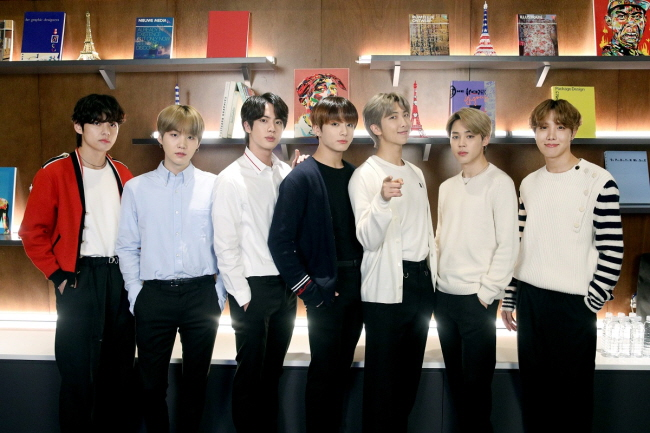 BTS Launches 'Connect' Art Project in London