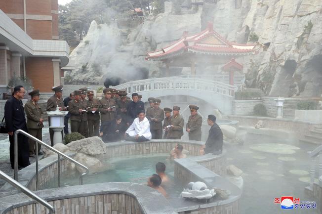 N. Korea's Yangdok Spa Resort Begins Operations