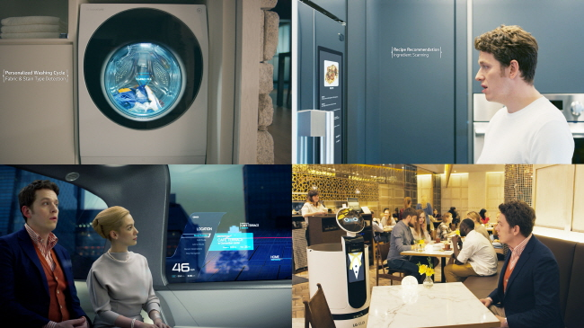 LG Electronics Inc.'s ThinQ AI solutions applied in various sectors. (image: LG Electronics)