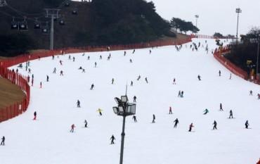 Ski Resorts Suffer from Snowless Winter