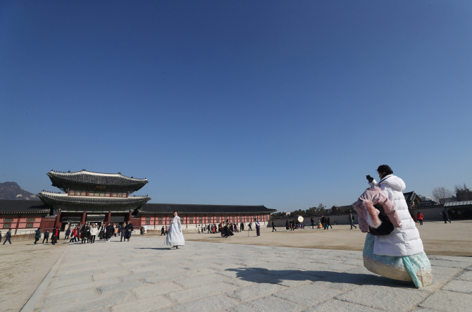 Gyeongbok Palace in central Seoul. (Yonhap)