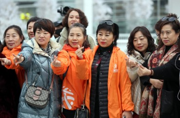 No. of Chinese Tourists to S. Korea Dips 30 pct over THAAD Row