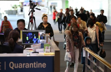 Number of Passengers at Incheon Airport Dips amid Coronavirus Spread