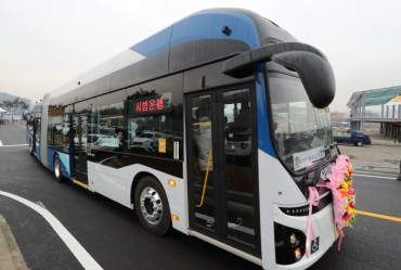 Eco-friendly Electric Articulated Buses Coming to Sejong City