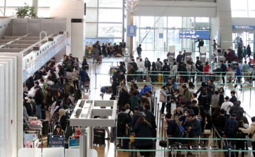 Korea's Air Passenger Traffic Up 5 pct in 2019