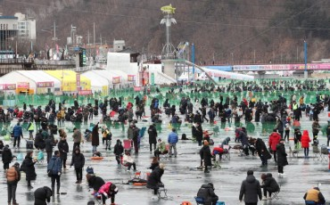 Hwacheon Ice Fishing Festival Kicks Off