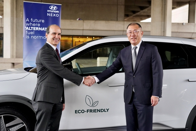 Hyundai, U.S. Gov't Sign MOU over Hydrogen Technologies