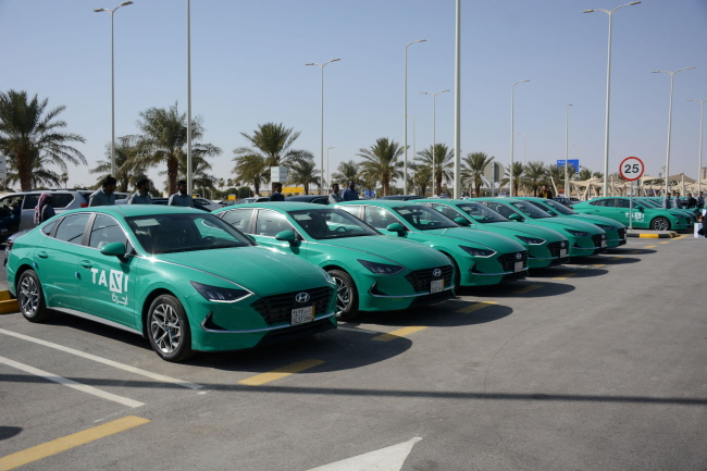 Hyundai to Supply 1,000 Sonata Taxis to Saudi Airport