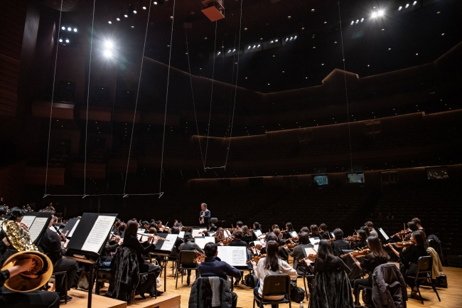 This photo of Seoul Philharmonic Orchestra was provided by the orchestra.