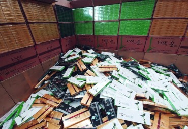 Authorities Bust Largest Ever Cigarette Trafficking Operation
