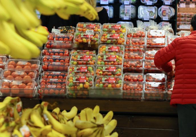 S. Koreans Stock Up on Food as Coronavirus Spreads