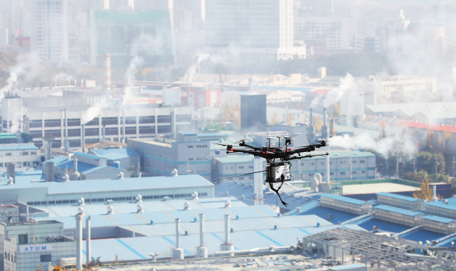 Government Drones Help to Expose Industrial Polluters