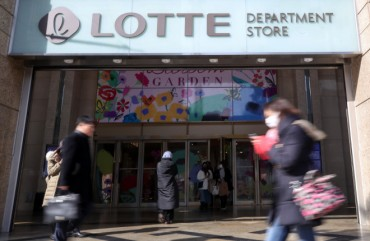 Lotte Shopping to Sell 121 Stores This Year Due to Virus Impact