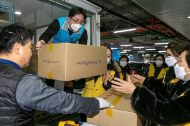 Korean Companies Join Virus Fight with Relief Goods