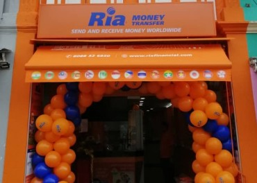 Ria Money Transfer Opens First Store in Singapore