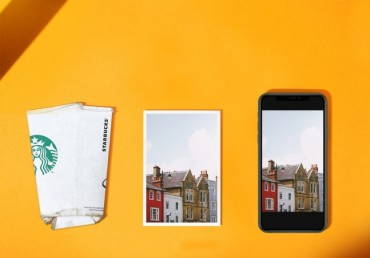 Disposable Products Transformed into Photographic Paper