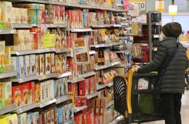 S. Korean Malls Peaceful Despite Panic Buying Worldwide