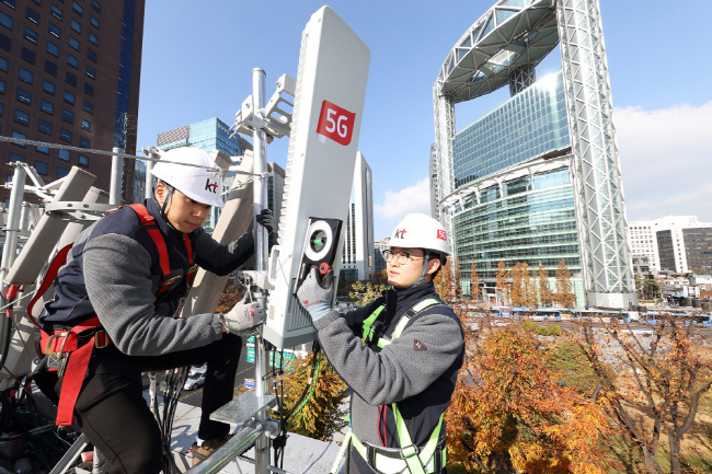 100,000 5G Base Stations Installed in S. Korea