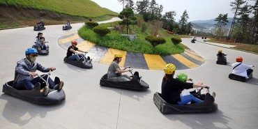 Old Highway Transformed into Luge Track