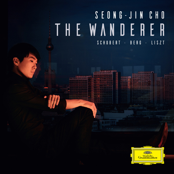 """The cover of pianist Cho Seong-jin's upcoming album """"The Wanderer"""" provided by Universal Music."""