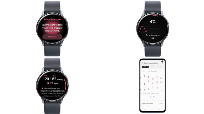 Samsung's Blood Pressure Monitoring App Earns Medical Device Approval in S. Korea
