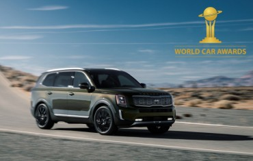 Kia Telluride Named 2020 World Car of the Year