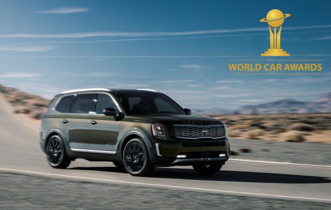 Kia Telluride Named 2020 World Car of the Year