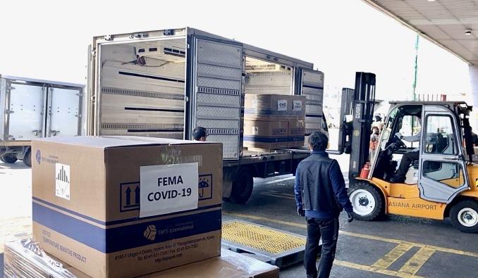 S. Korean Coronavirus Test Kit Shipment to Leave for U.S. Wednesday