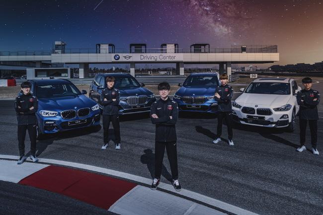 SK Telecom's Esports JV Secures BMW Sponsorship