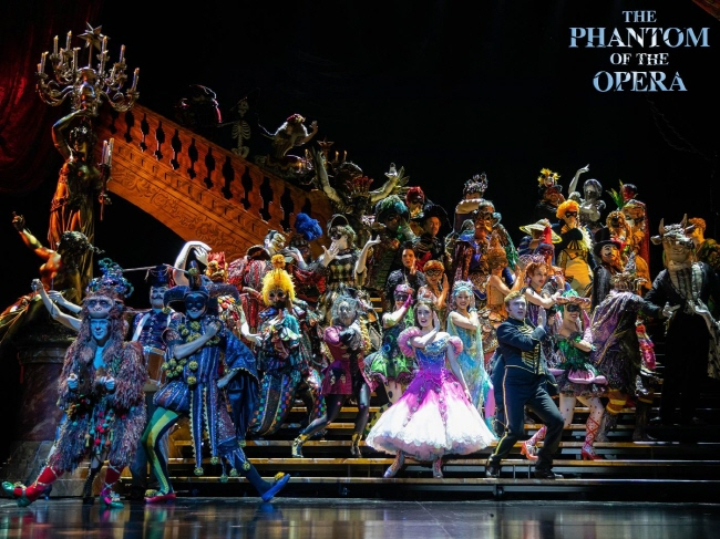 """This photo provided by Stagetalk shows a highlight from the 2020 Seoul tour of the musical """"The Phantom of the Opera."""""""