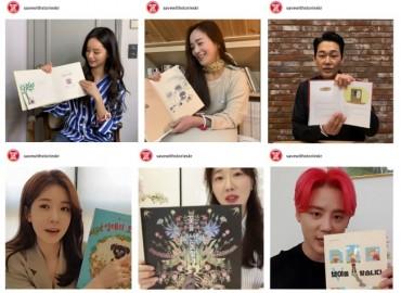 S. Korean Celebrities Read Books to Housebound Children