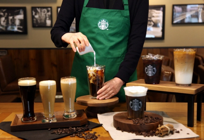 The program cleared the way for failed small business owners to open a second chapter in their life as baristas. (image: Starbucks Korea)