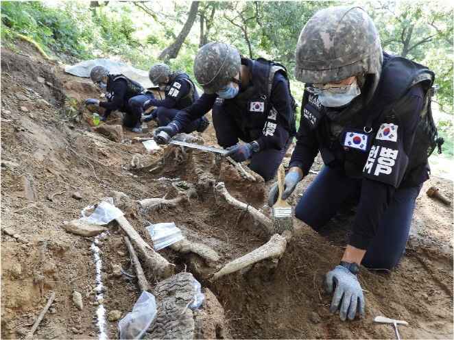 S. Korea Resumes War Remains Excavation Project Inside DMZ