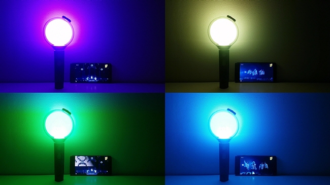Confined to their homes, fans were unable to see the thousands of light sticks that dot the stands at a typical BTS show. (image: Big Hit Entertainment)