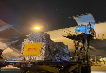 DHL Global Forwarding Ships More than 1.3 Million Covid-19 Test Kits from South Korea