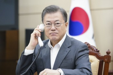 Moon, Gates Agree on Coronavirus Vaccines, Treatment in Phone Talks
