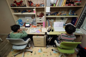 Majority of S. Koreans Concerned over Widening Education Gap Caused by Online Classes