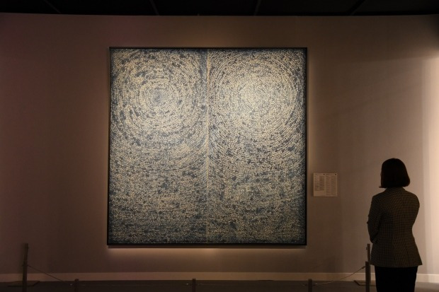Abstract Master Kim Whan-ki's 'Universe' to Go on Exhibition at Home Next Month