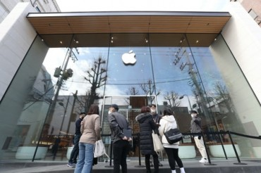 Apple to Reopen Store in South Korea on Sat.