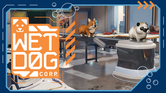 Dirty Dogs Get Clean: Wet Dog Corp. Out on Steam VR May 4th