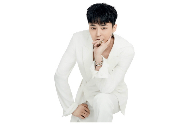 A promotional photo of K-pop star G-Dragon provided by YG Entertainment