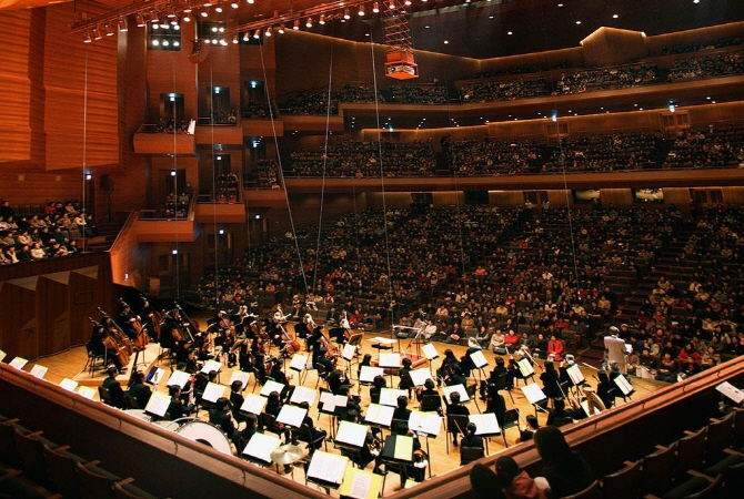 This photo provided by Seoul Arts Center shows its Concert Hall.