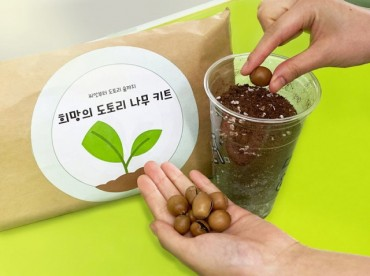 Convenience stores Distribute Acorns for Home Gardens